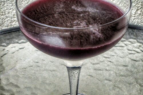 Blueberry Daiquiri Drink