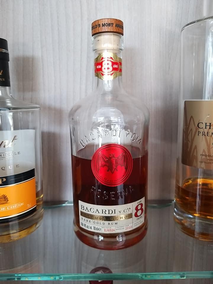 Rum Bacardi 8 (Ocho)