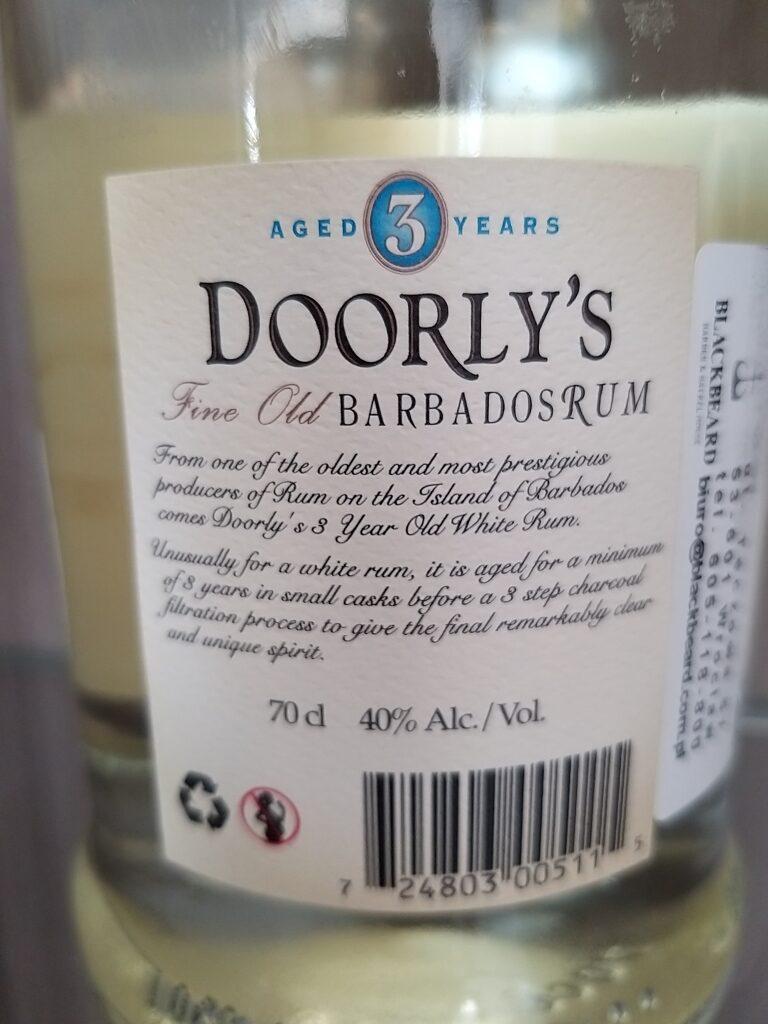 Rum Doorly's XO