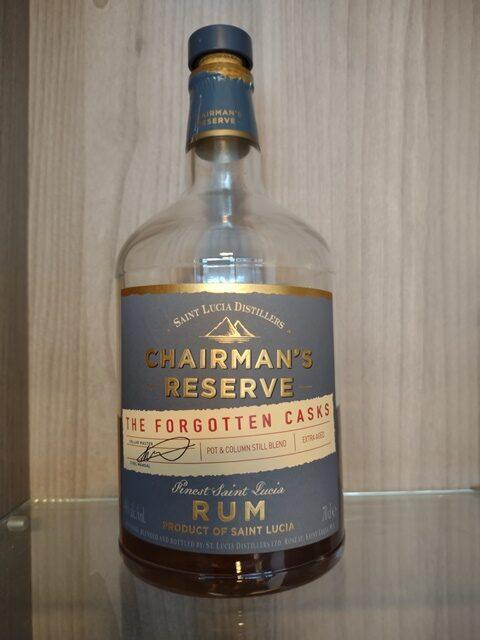 Rum Chairman's Reserve Forgotten Casks
