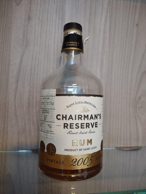 Rum Chairman's Reserve 2005