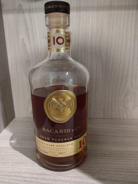 Rum Bacardi Gran Reserva Diez
